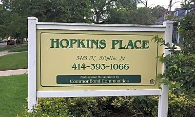 Hopkins Place, 1