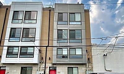 Building, 327 E Allen St, 1