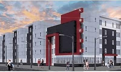 Building, Campus Lofts, 2