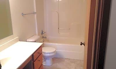 Bathroom, Springdale Apartments, 2