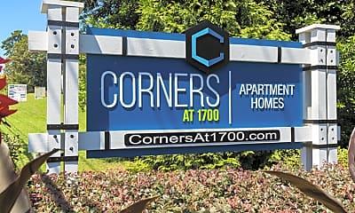 Community Signage, Corners at 1700, 2