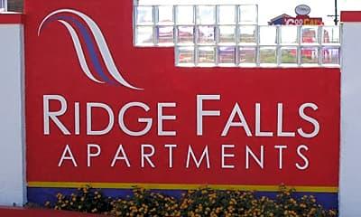 Community Signage, Ridge Falls, 0