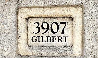Community Signage, 3907 Gilbert Ave, 0