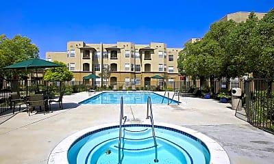 Pool, Bouquet Canyon Senior Apartments, 0