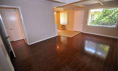 Living Room, 6125 Whitsett, 1