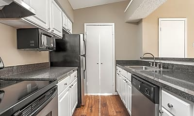 Kitchen, Vue on Knoll Trail, 1