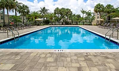 Pool, Sunset Palms Apartments, 0