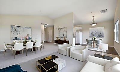 Living Room, 453 E Okeefe St 308, 1