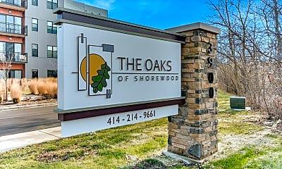 Community Signage, The Oaks at Shorewood Senior Residences, 2