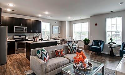 Living Room, Woodmont Cove, 1