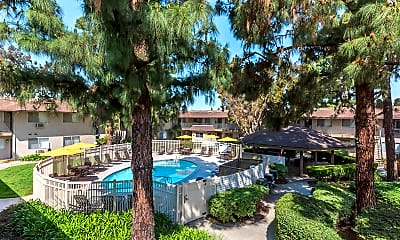Pool, Rancho Vista Apartment Homes, 0