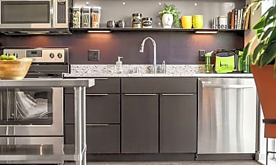 Kitchen, Belay Apartments, 2