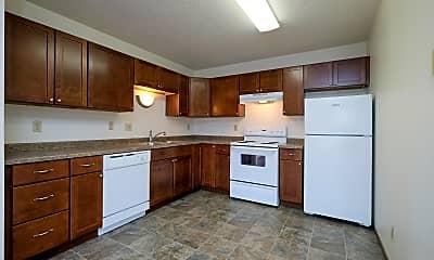 Kitchen, Carlton Apartments, 1