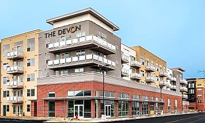 Building, The Devon at University Place, 1