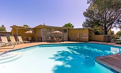 Pool, Huntington Apartments, 1