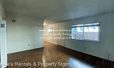 Living Room, 745 Davis Street, 1