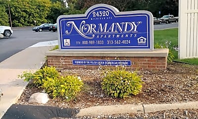 Normandy Apartments, 1