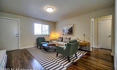 Living Room, 880 North Highland Avenue Northeast, 1
