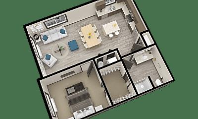 Bedroom, 3428 London Rd, 2