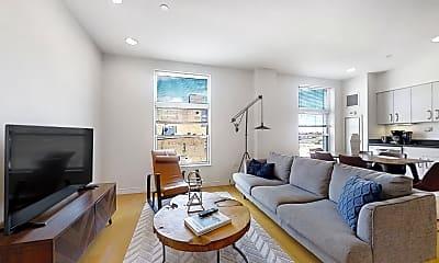 Living Room, 601 Albany St., #608, 0