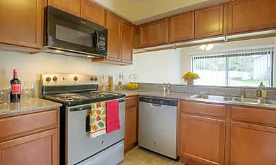 Kitchen, Cedar Lake Apartments, 1
