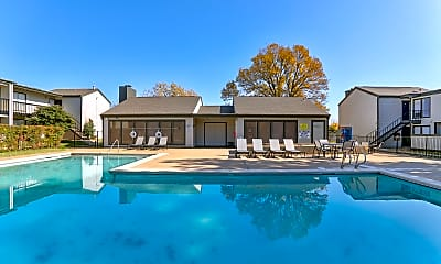 Pool, Darlington Oaks/Midtown Flats, 1