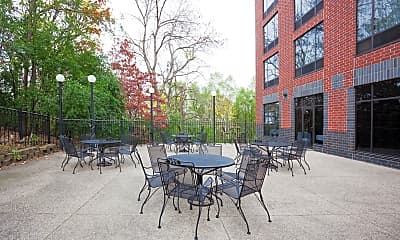 Courtyard, American Business Class Apartments, 1