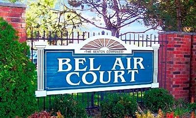 Community Signage, Bel Air Court, 2