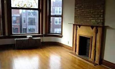 Living Room, 1625 N Oakley Ave, 0