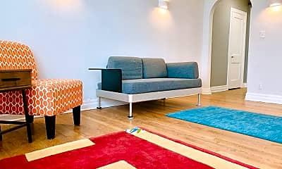 Living Room, 2420 1/2 N Robinson Ave, 1