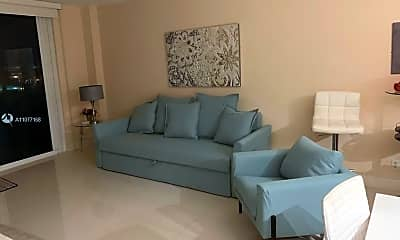 Living Room, 9195 Collins Ave 1012, 1