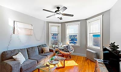 Living Room, 317 Allston Street, Unit 6, 2