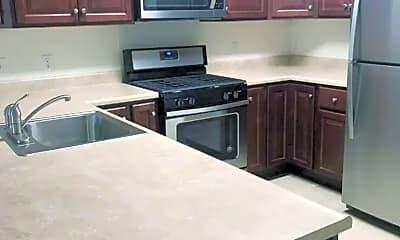 Kitchen, Pioneer Apartments, 0