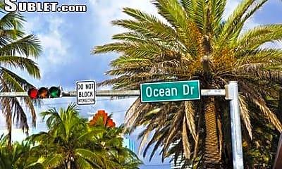 Community Signage, 1330 Ocean Dr, 1