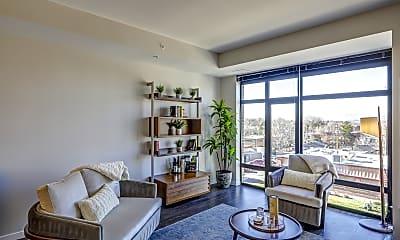 Living Room, Atelier at University Park, 1