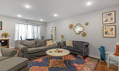 Living Room, 1710 Cambridge St 1, 1