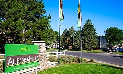 Community Signage, Aurora Hills, 0