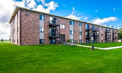 Building, Greenfield Apartments, 0