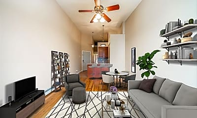 Living Room, 93 Magnolia Ave 3L, 1