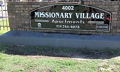 Missionary Village Apartments, 1