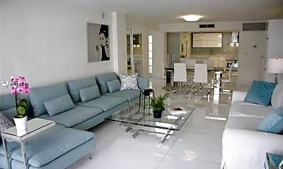 Living Room, 1800 Collins Ave, 0