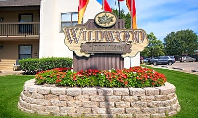 Community Signage, Wildwood Apartments, 0