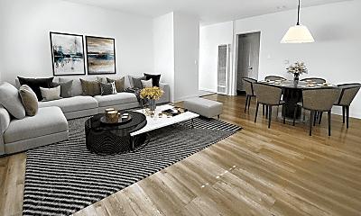 Living Room, 1446 S Cochran Ave, 0