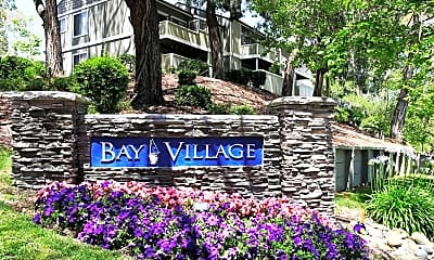 Community Signage, Bay Village Apartments, 2