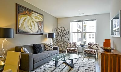 Living Room, The Residences at Harlan Flats, 1