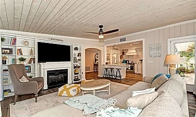 Living Room, 5239 Winding Way, 2
