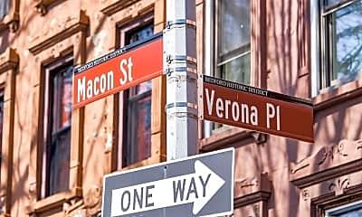 Community Signage, 97 Macon St, 2