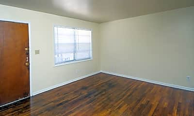 Living Room, 1295 West Apartments, 2