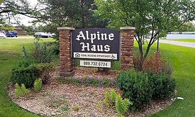 Alpine Haus, 1