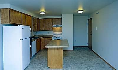 Kitchen, Desoto Apartments, 0
